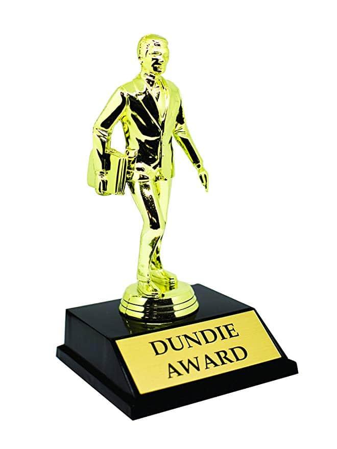 dundie office award