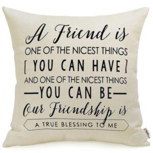 friendship pillow going away gift