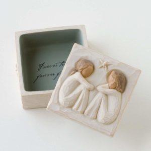 Hand printed keepsake box