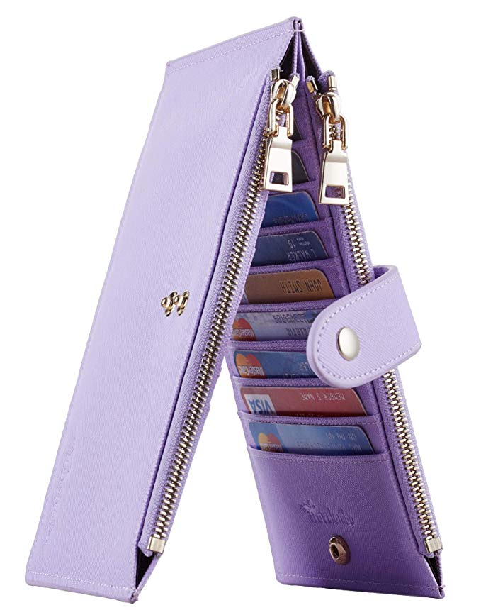 zipper wallet rfid blocker