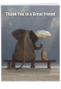 farewell goodbye card gift
