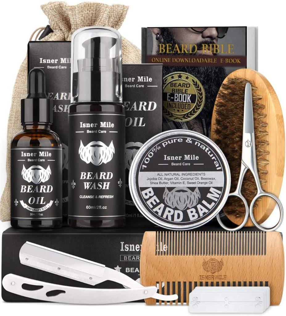 first salary beard set gift