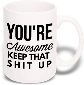 strength representing mug gift